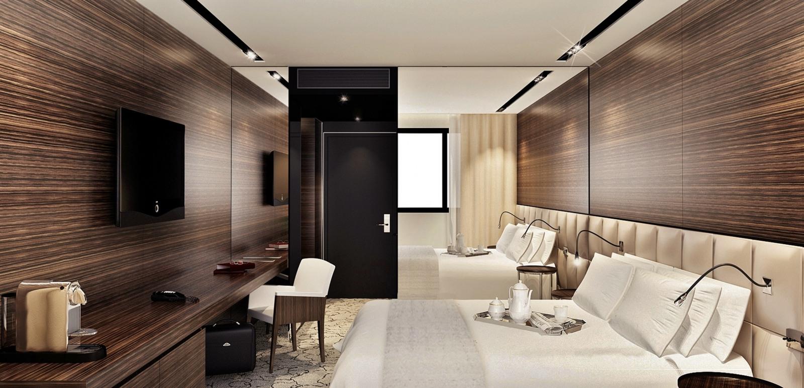 Howard Hôtel - Des chambres aux lignes épurées et au luxe sobre